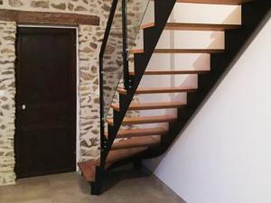 Escalier design bois métal